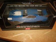 Sun Star  1/18  1971 Ford Mustang Pro Stock Drag Car     wheels need repair !!!