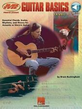 Guitar Basics w/CD  Hal Leonard  L-Q-Q-K  NEW