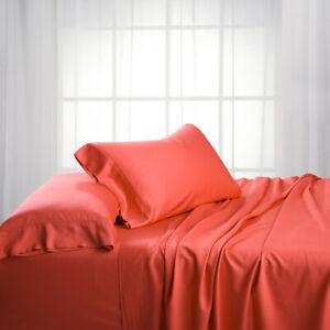 Luxury Bed Sheet Set- Bamboo Hybrid Cotton 300 Thread Count Sheet Set