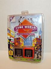 Radica Cube World Series 4 Handheld Game Slam & Grinder 2007 New Sealed (h)