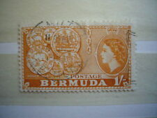 BERMUDES BERMUDA 1 S ORANGE YT 142 OBLITERE BON ETAT
