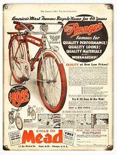 Nostalgic Ranger Mead Bicycle Sign