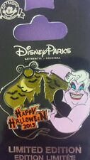 DISNEY URSULA CAST EXCLUSIVE  Happy Holloween 2015  LE 1000 SOLD OUT PIN