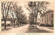 Main Driveway in State College PA 1926