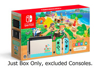 Outer Box Nintendo Switch Animal Crossing New Horizons Special Edition