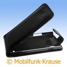 Flip Case Etui Handytasche Tasche Hülle f. LG P760 Optimus L9 (Schwarz)
