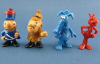 Bully - Inspektor, Sergeant, Ameise, Elise - 4x Comic-Figuren Paulchen Panther
