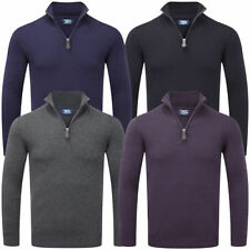 Wilson Zip Neck Thin Knit Jumpers & Cardigans for Men