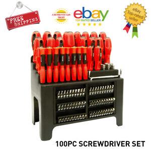100pc Screwdriver Set Home DIY Tool Kit Repair Precision Hand Tools