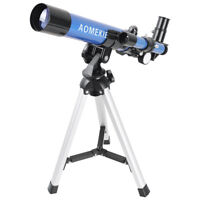 40040 Refractor Astronomical Telescope Optical Prism 40mm Tube With Tripod Toy