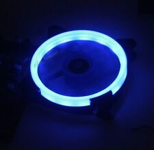 5 Lots Super Quiet 12cm 120mm Blue LED Fan PC Computer Case Cooler Cooling fan