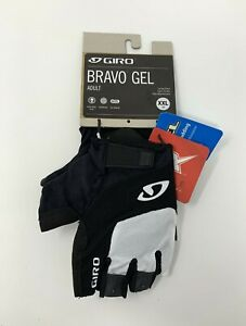 Giro Bravo Gel White / Black Cycling Gloves Size 2XL New with Tags