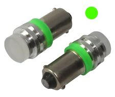2x ampoule T4W T5W BA9s 12V LED HIGH POWER 1W vert éclairage intérieur plaque