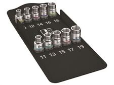 Wera WER004203 8790HMCHF/10 Zyklop Screw Hold Socket Set of 9 Metric 1/2in Drive