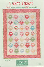 Tisket Tasket ~ Quilt Quilting Pattern ~ by Black Mountain Quilts 825