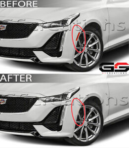 Clear Front Side Markers For 2020+ Cadillac CT5 / CT5-V Premium Luxury Sport V