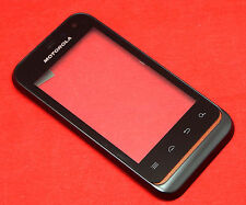 Original Motorola Defy Mini XT320 Touchscreen Digitizer Display Glas mit Rahmen