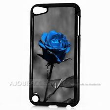 ( For iPod Touch 6 ) Back Case Cover AJ10513 Blue Rose