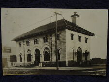 1908 St.CLOUD,MN Post Office RPPC Retail Stores CIGAR Sign MOVIE / RODEO Posters