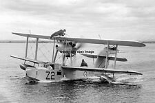 rp15697 - Seaplane from Royal Navy Warship HMS Leander - photo 6x4