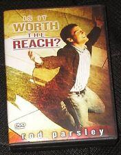 Is It Worth The Reach? by Rod Parsley Christian Teaching Faith 2 DVD Set Jesus