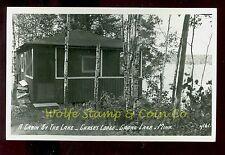 1940's RPPC Chase's  Lodge Crane Lake MN  B2528