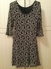 Ladies FILO 3/4 Sleeved Fully Lined Knit Dress Size 10 New and Unused