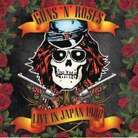 GUNS 'N' ROSES - LIVE IN JAPAN 1988  2 CD NEU