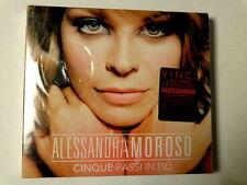 ALESSANDRA AMOROSO  -  CINQUE PASSI IN PIU'  -  2 CD DIGIPACK  NUOVO E SIGILLATO