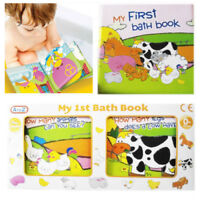 Baby My 1st Bath Book Toddler Floating Toy Play Educational Learn Waterproof PVC