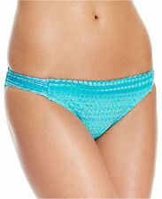 NEW HOBIE AZL Azul Crochet Tab Sides Swimwear Bikini Bottom S Small