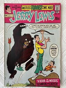 The ADVENTURES of JERRY LEWIS # 121 DC COMICS 1970 HUMOR COMEDY TV MOVIE STAR