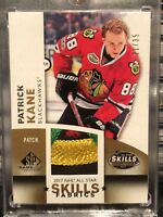 2017-2018 UD SPGU Patrick Kane 4 Color Patch #21/35