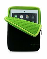 iPad air air2 inner case cover neoprene slip-in sleeve 9.7 inches green w/Track