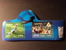 FRANCE 2007, timbres 4071 et 4072 RUGBY, oblitéré 1° JOUR, SPORT FDC stamp