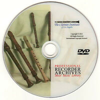 Professional RECORDER SHEET MUSIC Archive - DVD PDF