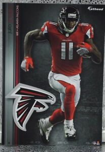 "11 Fathead Atlanta Falcons Julio Jones NFL 7"" Decal Team Logo Tradables"