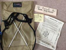 Tough Traveler Baby Carrier Backpack Rain / Sun Hood Model 137SH NEW MADE IN USA