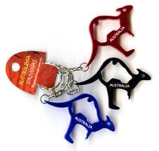 3 x Kangaroo Keyring Bottle Opener Souvenir