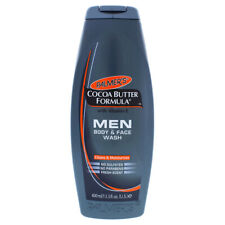 Cocoa Butter Men Body and Face Wash by Palmers for Men - 13.5 oz Body Wash