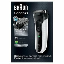 BRAUN Series 3 ProSkin 3020s Rechargeable Electric Shaver White New Sealed