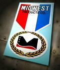 """MIDWEST PRODUCTS Co. • """"M"""" Medal Logo sticker • RC • Control Line"""