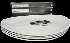 WMF Steak Grill Set for 4, 4 x Steakbesteck, 4 x Arcoroc Essteller