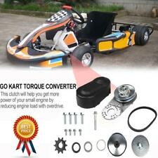 "1"" Go Kart Torque Converter Clutch Kit Repair Replacement Set #420 Drive Belt Us"