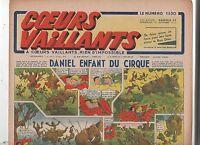 COEURS VAILLANTS 1942 n°37. Hergé. Tintin Le crabe aux Pinces d'Or.
