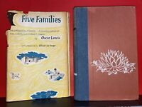 Five Families. the Anthropology of Poverty. a Revealing Portrait of... Second pr