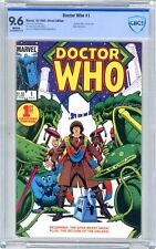 Doctor Who #1 CBCS  9.6  NM+  White pgs  10/84  1st Doctor Who in his own title
