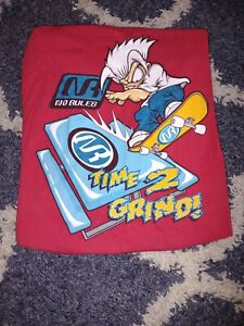 Vintage No Rules Skateboard Shirt, Boys Size Large