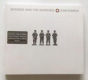 SIOUXSIE AND THE BANSHEES Join Hands CD 2006 Digipak Reissue Bonus Tracks