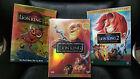 DVD Bundle Set: Lion King Trilogy platinum simba's pride 1 2 3 1/2